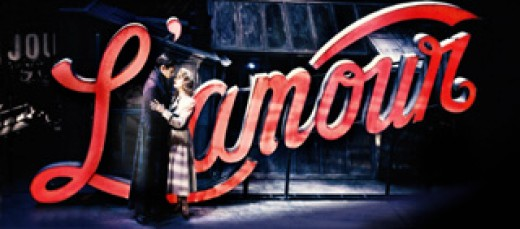 Image from Baz Luhrmann's production of La Boheme on Broadway