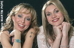 Rebecca Knight and Karen England, from the 2002 interview for the Telegraph.co.uk