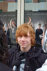 Rupert Grint at the Toronto premiere of Harry Potter and the Order of the Phoenix movie