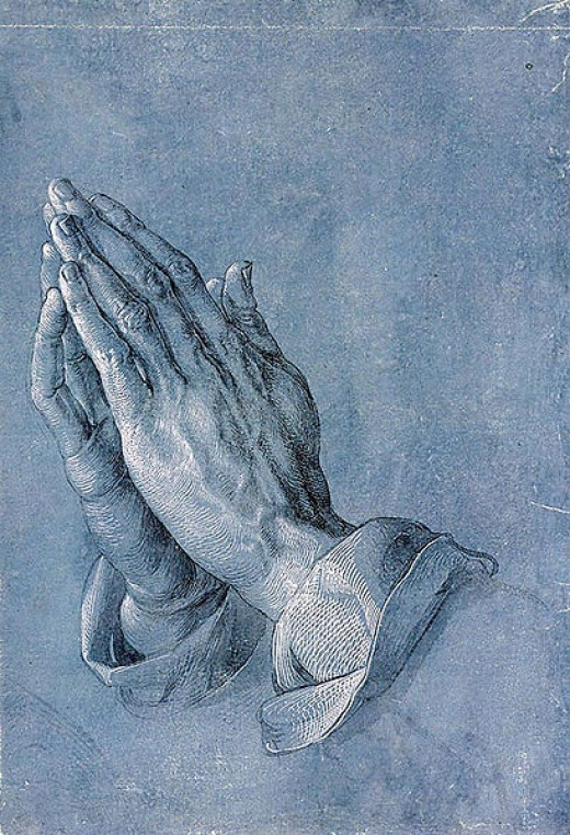 Praying Hands by Albrecht Durer.  Source:  Commons Public Domain - Art.