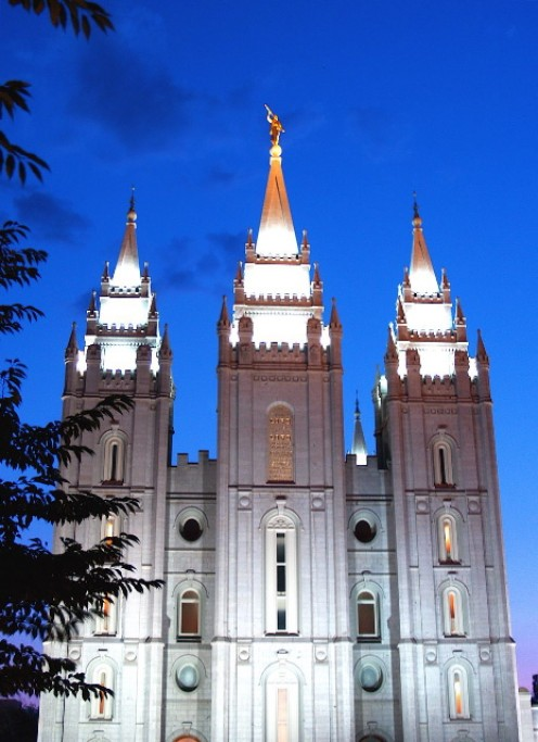 Why are Mormons only allowed in LDS Temples?