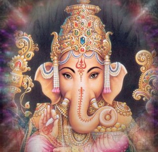 The god Ganesha. I don't know, but I tend to believe that somehow the myths of ALL these gods sprang from strange birth defects of some kind or another.