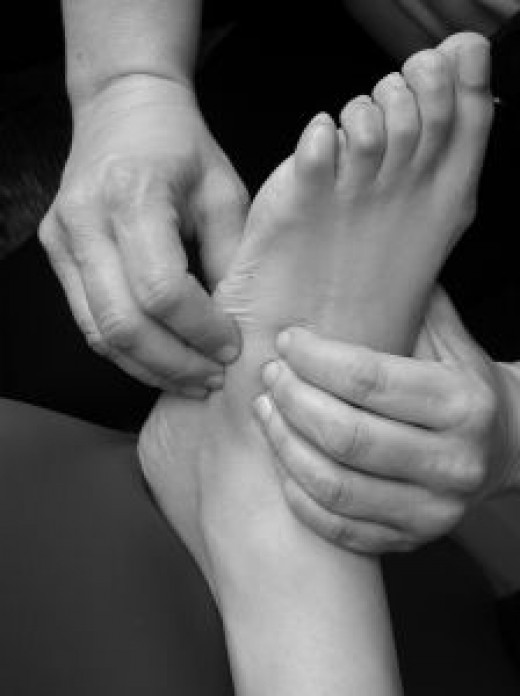 Plantar Fasciitis Information Photo by Luis Solis