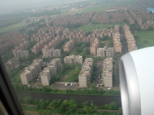 Buildings in New Delhi