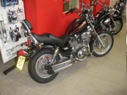 Yamaha's XV 1100 Virago - the only one of the Yam cruisers to have