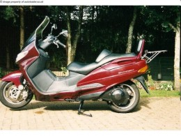 Are you serious? The Suzuki AN Burgman might be cool on the Italian Riviera, but don't even think about it round here