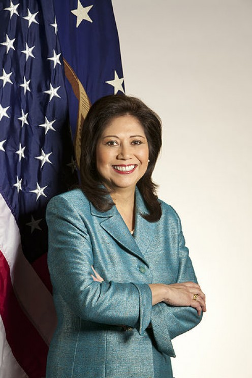Secretary of Labor Hilda Solis