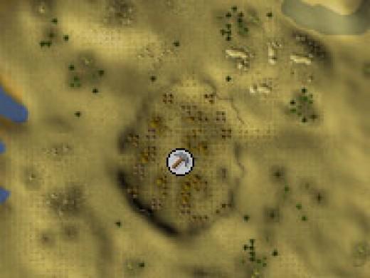 South of Bedabin Camp in the desert (Granite)