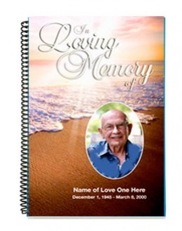 free funeral program booklet template .