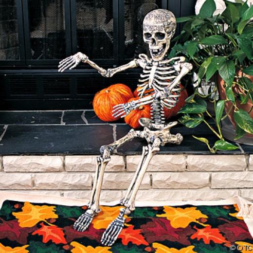 outdoor skeleton decoration - Skeleton Decorations