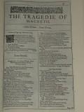 My Favourite Shakespeare Play, Macbeth