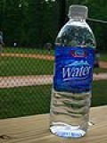 Plain refreshing water keeps the body hydrated and flushed
