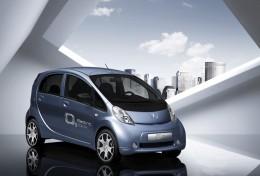 Peugeot iOn based on the Mitsubishi i MiEV.