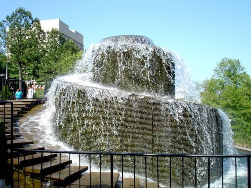 Finlay Park Fountain