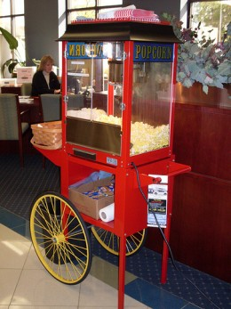 Pop Corn Machines Make A Great Mom and Pop Business That is Profitable.