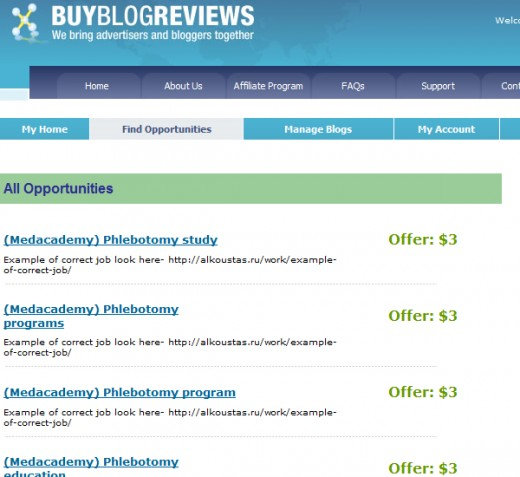 Buy Blog Reviews