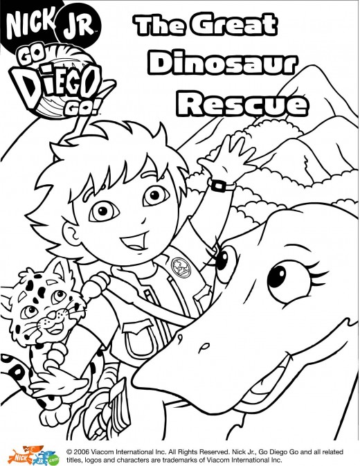 Free Coloring Pages for Kids -- Fun Printable Coloring Pages