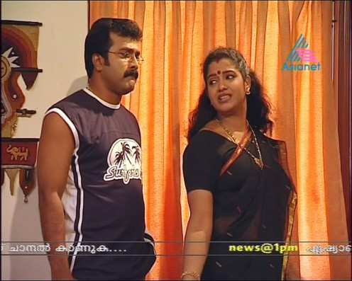 Sexy Malayalam TV Serial Aunty Maya Moushmi Image 3