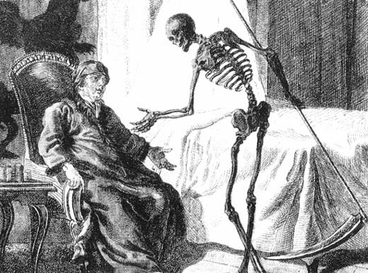 The Grim Reaper Image Credit: The Wikipedia
