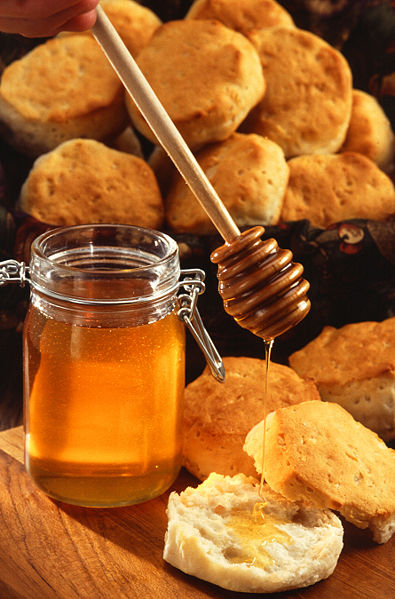 Honey is also good for skin repair.
