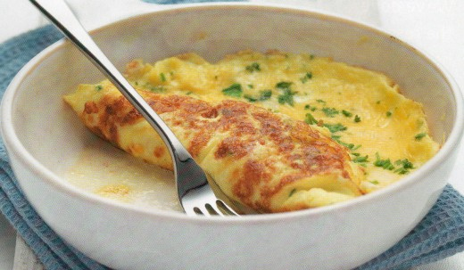 French Omelette with fine herbs