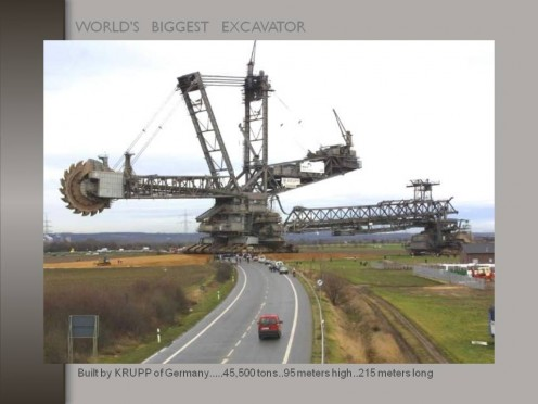 WORLD BIGGEST EXCAVATOR