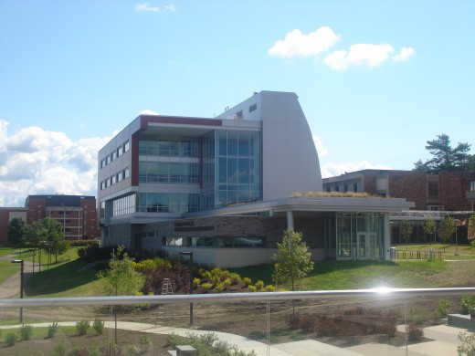 New Green building at Ithaca College