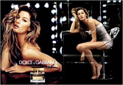 Giselle Bundchen for Dolce & Gabbana The One