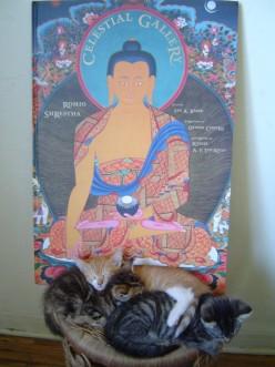His Holiness the Dalai Lama with Silvia