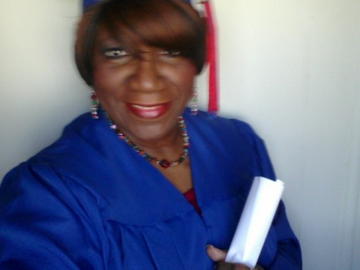 My hope was to some day get my high school diploma, I obtain my goal march 2009. My hope became a reality.