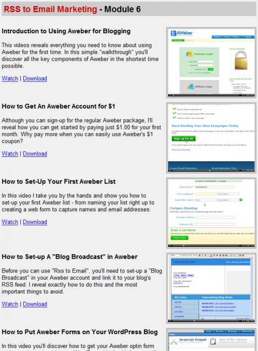 Wordpress Wizard 2.0 Members area , RSS and E-Mail marketing