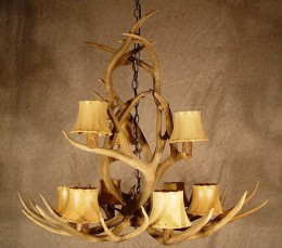 Deer Antler Chandelier from CDN antler flickr