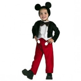 Mickey Mouse, at Number 7 always a favorite for Halloween