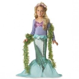 Little Mermaid costume is another favorite with mommies at number 6