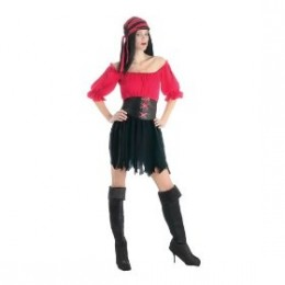 Jack Sparrow may just be what women are looking for as in at number 10 the pirate wench costume is popular this year
