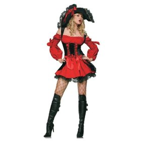 The Vixen Pirate wench corsett comes in at number 8, Jack Sparrow will have plenty to choose from this year
