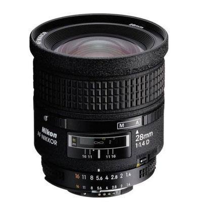 A 28 mm AF D f 1.4 lens