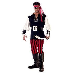 Its a Cut throat world out there fit in at number 10 inthis cut throat pirate costume