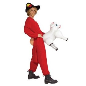 Erm! Baaah! what more can you say but this fun costume is in at number 2
