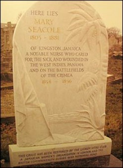 Mary Seacole's grave