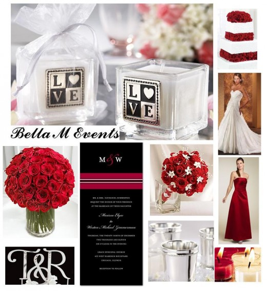 red black and white wedding ideas. WEDDING IDEAS: RED, BLACK