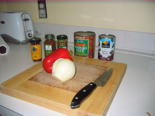 Just a few ingredients...