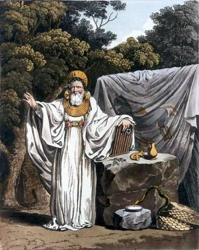 Merlin took the Treasures from the gaurdians.