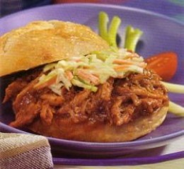 Crock-pot Pulled Pork Sandwiches