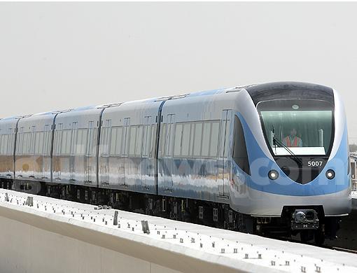 Dubai Metro Train 1