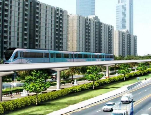 Dubai metro real photo 1