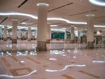 Dubai metro railway station