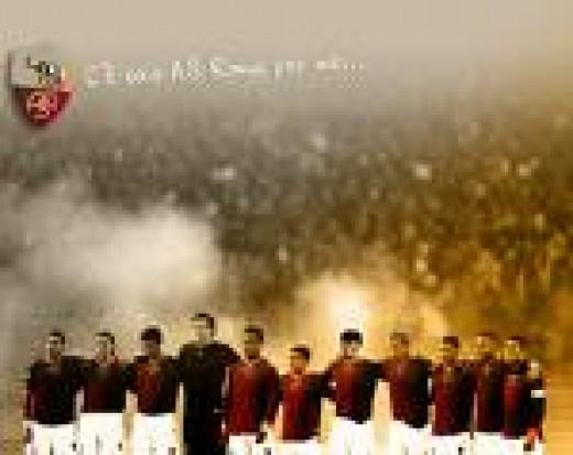 roma team photo