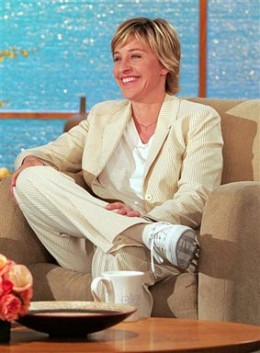 Talk show host: Ellen DeGeneres