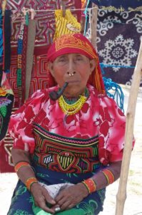 Kuna Indigenous Woman.